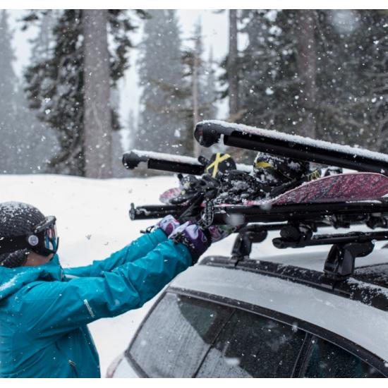 Напречни греди Flush BAR плюс багажник за ски
